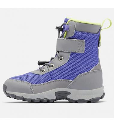 Columbia žiemos batai mergaitei HYPER-BOREAL. Spalva violetinė / pilka