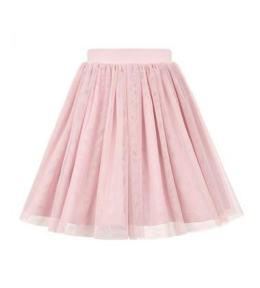 Manufaktura Falbanek ilgas tiulio sijonas . Spalva rausva