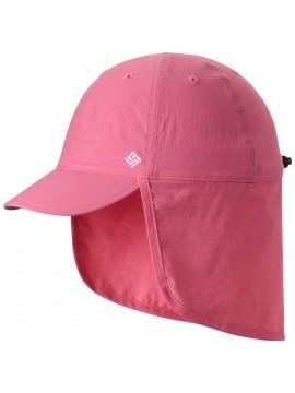 Columbia vasaros kepurė Junior Cachalot. Spalva rožinė