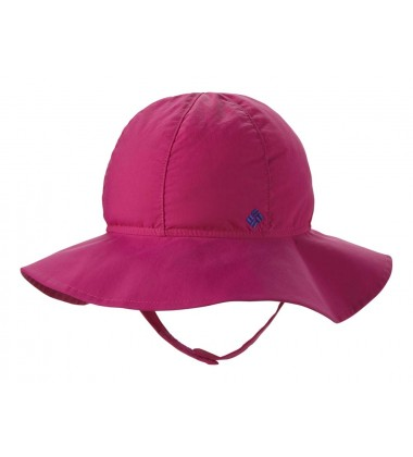 Columbia vasaros kepurė Infant Packable Booney . Spalva rožinė