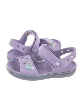 Crocs Crocband Imagination Sandal basutės. Spalva levandų