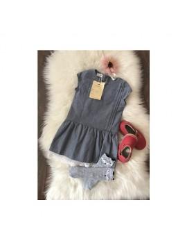 """K&F Style Suknelė """"Debesys jūroje"""". Spalva mėlyna"""