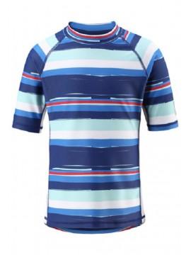 Reima marškinėliai Fiji. Spalva mėlyna / dryžuota