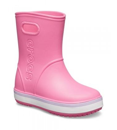 Crocsband Rain botai. Spalva šviesiai rožinė