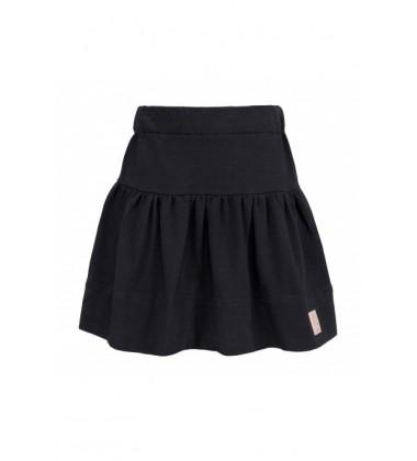 Tuss vaikiškas sijonas. Spalva juoda