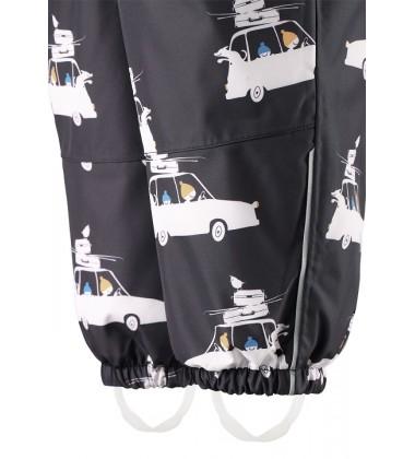 Reimatec® kombinezonas Luosto 80-98. Spalva juoda su baltom mašinytėm