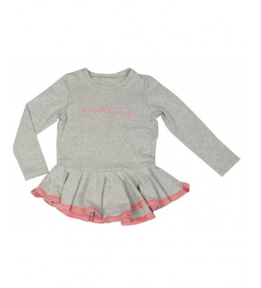 Monomy marškinėliai. Spalva pilka. Dydžiai 86-110 cm