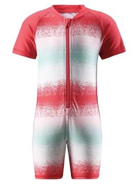 Reima maudymosi kostiumėlis ODESSA. Spalva  raudona su printu