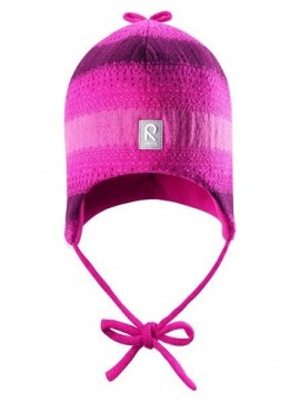 Reima žiemos kepurytė  PILVET. Spalva tamsiai rožinė