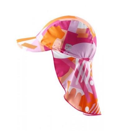 Reima kepurė su UV filtru Octopus. Spalva rožinė