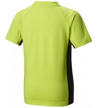 Columbia marškinukai BOY'S SILVER RIDGE. Spalva ryškiai žalia