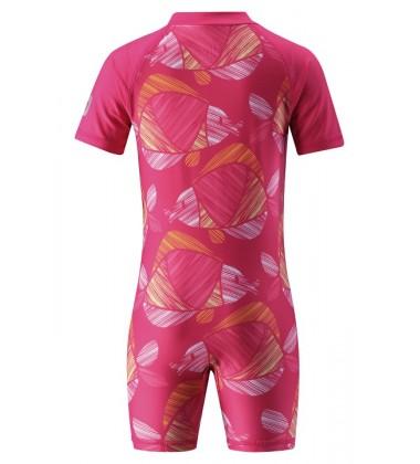 Reima maudymosi kostiumėlis ODESSA. Spalva ryški rožinė su žuvytėmis