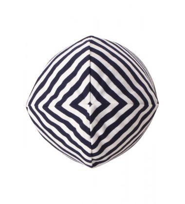Reima pavasario kepurė su raišteliais Huvi. Spalva tamsiai mėlyna / balta dryžuota