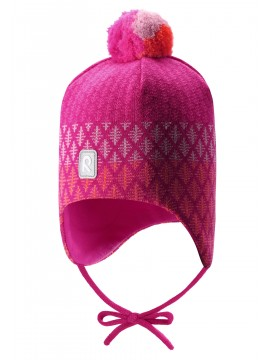 Reima kepurė Uljas. Spalva rožinė