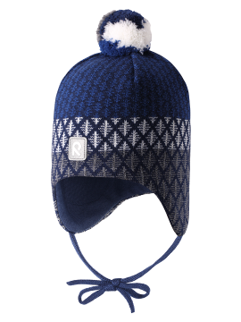 Reima kepurė Uljas. Spalva tamsiai mėlyna
