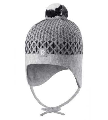Reima kepurė Uljas. Spalva pilka