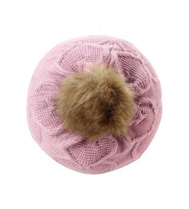 Reima kepurė Neulos. Spalva švelniai rožinė