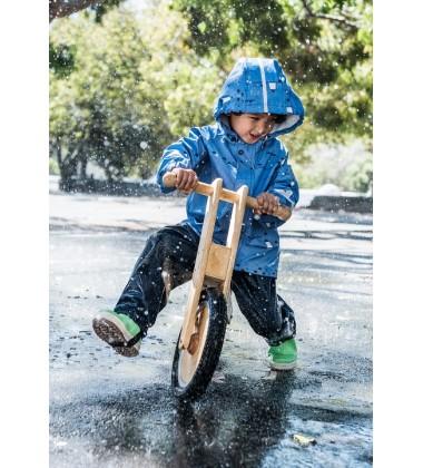 Reima lietaus striukė Vesi. Spalva šviesiai mėlyna su printu