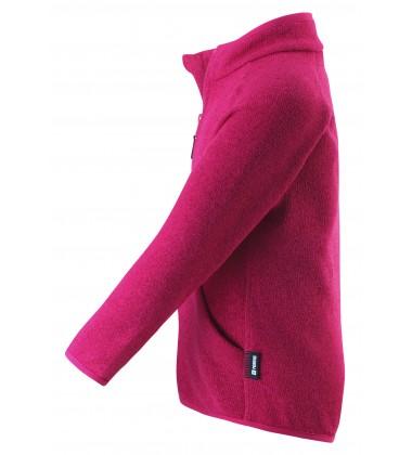 Reima flisinis megztinis Hooper. Spalva ryškiai rožinė