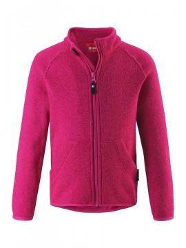 Reima flisinis megztinis Hopper. Spalva ryškiai rožinė