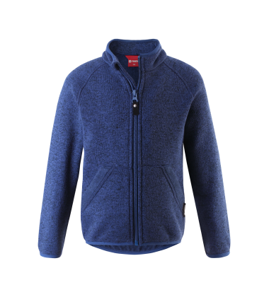 Reima flisinis megztinis Hopper. Spalva tamsiai mėlyna