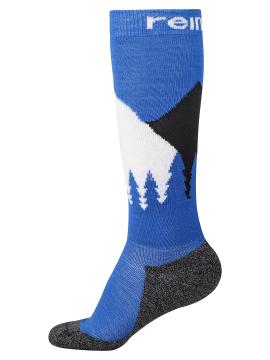 Reima kojinės Ski Day. Spalva mėlyna / balta