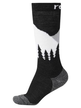 Reima kojinės Ski Day. Spalva juoda / balta