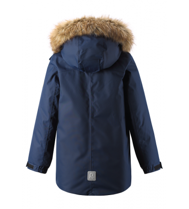 Reimatec® pūkinė žiemos striukė Serkku. Spalva tamsiai mėlyna