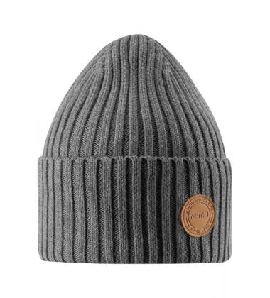 Reima kepurė Hattara. Spalva pilka