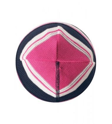 Reima pavasario kepurė RANTU. Spalva mėlyna / rožinė dryžuota