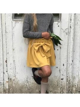 """K&F Style sijonas """"Saldainis"""".Spalva garstyčių"""