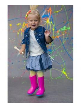 Monomy sijonas. Spalva pilka/mėlyna. Dydžiai 116-140cm