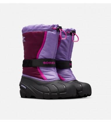 Sorel žiemos batai FLURRY. Spalva violetinė