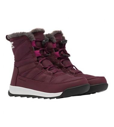 Sorel žiemos batai WHITNEY SHORT LACE. Spalva bordinė