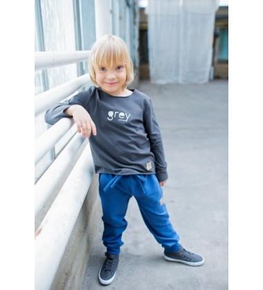 Tuss vaikiškos kelnės. Spalva mėlyna
