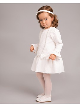 Balumi suknelė Dominica. Spalva šviesiai kreminė