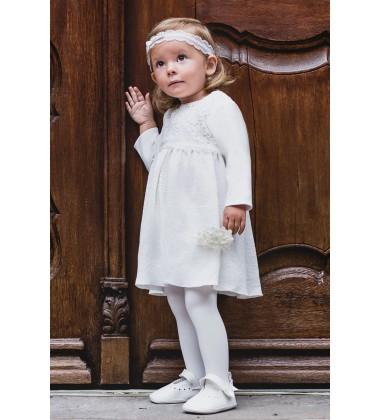 Balumi suknelė Emma. Spalva šviesiai kreminė