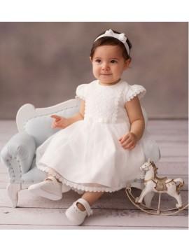 Balumi suknelė Gloria. Spalva švieiai kreminė
