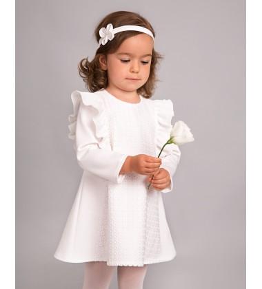 Balumi suknelė Lenka. Spalva šviesiai Kreminė