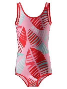Reima maudymosi kostiumėlis SUMATRA. Spalva  rožinė/ raudona su printu