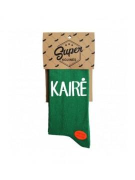 """Super kojinės """"Kairė - Ne Kairė. Spalva žalia"""