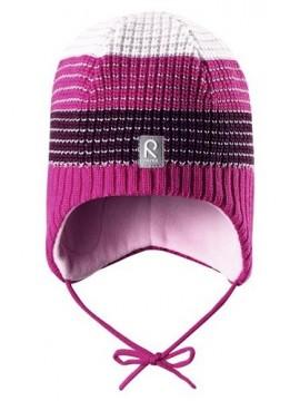 Reima žiemos kepurytė TILAVA. Spalva rožinė/pilka