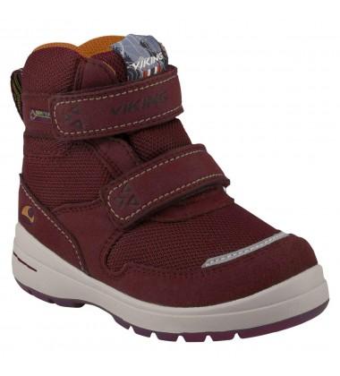 Viking žiemos batai TOKKE GTX. Spalva bordo