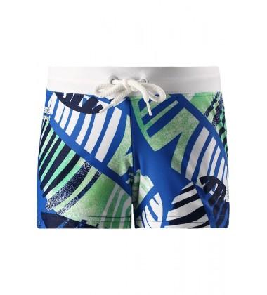 Reima plaukimo šortukai TONGA. Spalva mėlyna / balta / žalia