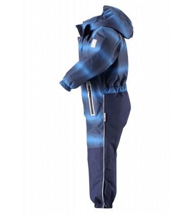 Reimatec žiemos kombinezonas Tornio. Spalva tamsiai mėlyna su printu / mėlyna - užsakoma prekė