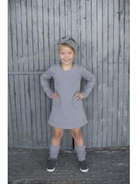 Tuss vaikiška suknelė . Spalva pilka