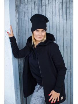 Tuss moteriška kepurė . Spalva juoda